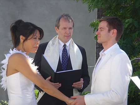 Mark & Charmaine with Rev. Nielson